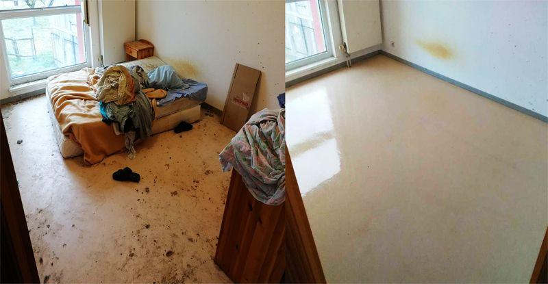 Nettoyage chambre